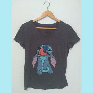 🌺Disney Lilo & Stitch V-neck Graphic Tee T-shirt